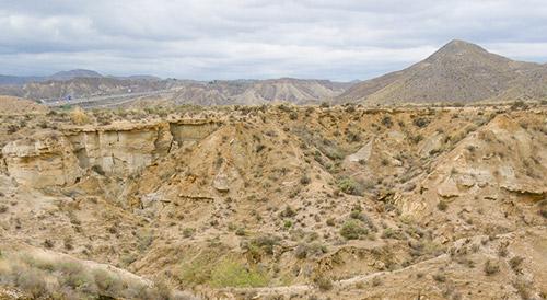 Desierto de Tabernas, turismo de Almería