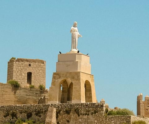 Sagrado Corazón de Jesús en el Cerro San Cristobal de Almería