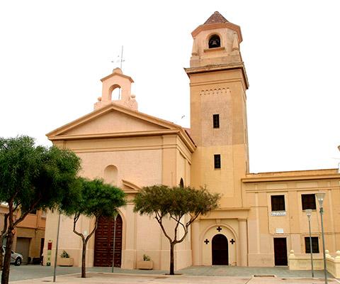 Iglesia de San Roque en Almería