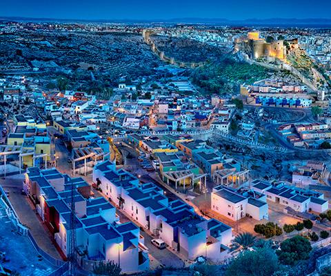Barrio del Aljibe (Chanca-pescadería) en Almería