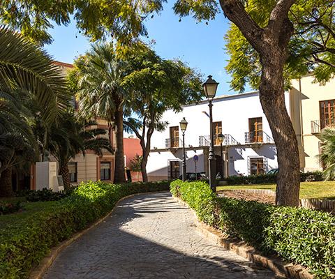 Plaza Bendicho de Almería