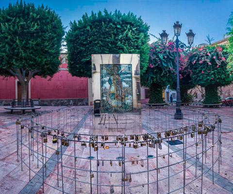 Bajorrelieve de San Valentin Almería Turismo