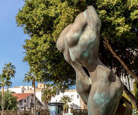 Esculturas de El Saludo de Almería