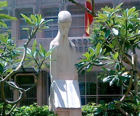 Estatua de Almería al Educador