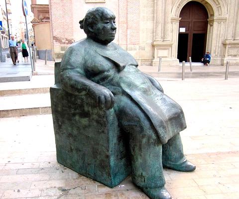 La espera, estatua en Almería