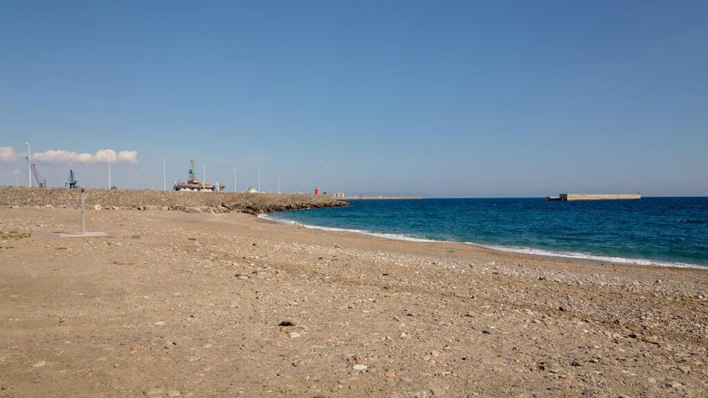 Playa de las Olas en Almería