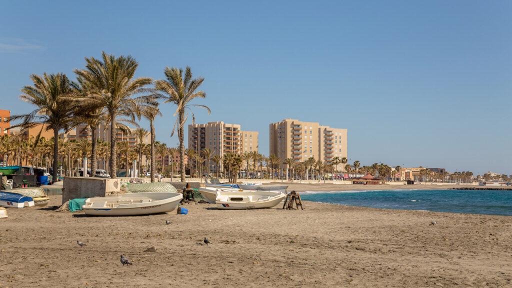 Playa de San Miguel de Almería (El Zapillo)