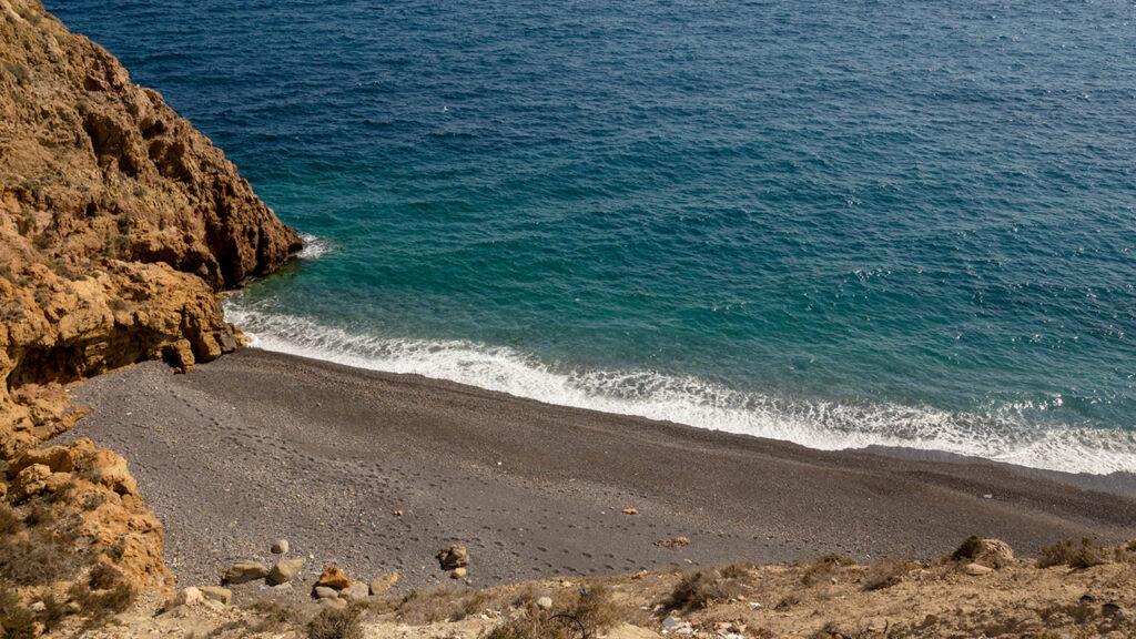 Playa del Faro de San Telmo, Almería