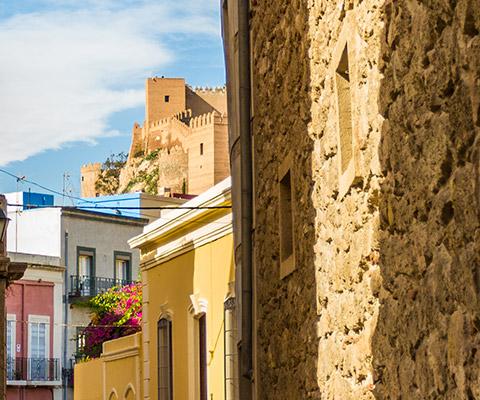 Visita guiada por el centro histórico de Almería. Turismo