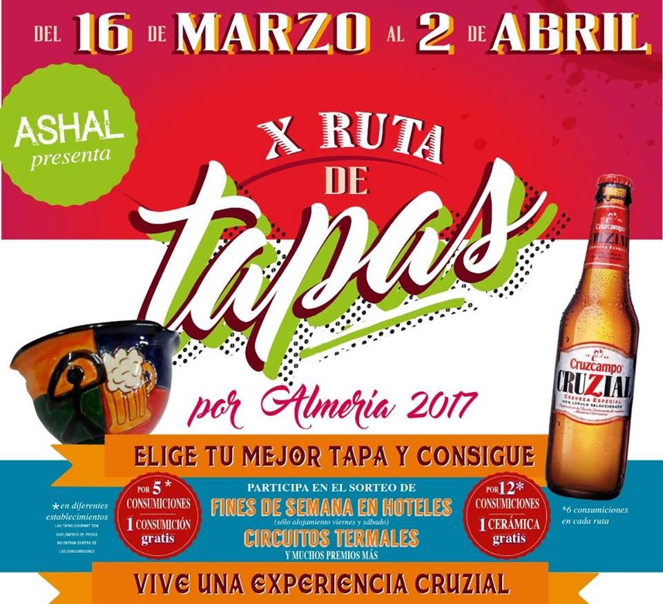 X Ruta de la Tapa por Almería