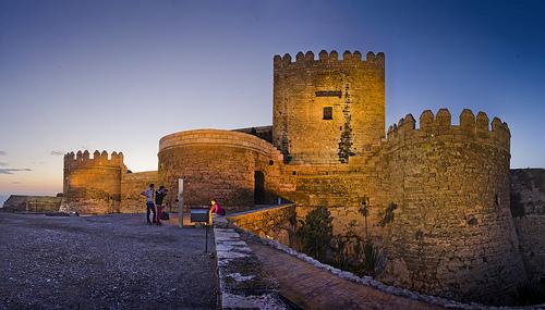 centro histórico y la Alcazaba