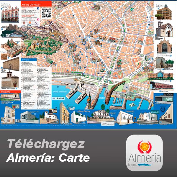 Almería: Carte