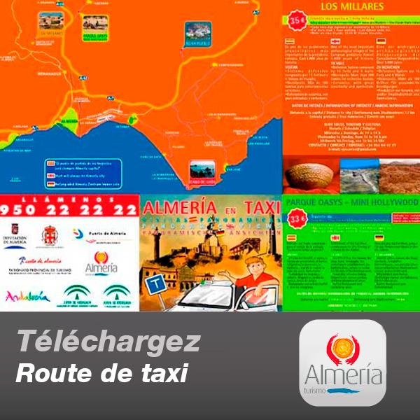 Route de taxi